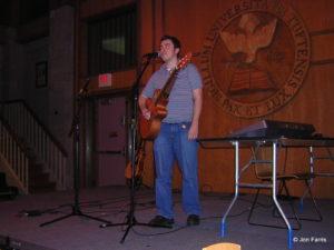 Paul singing